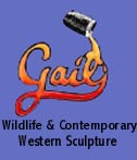 GAIL Wildlife and Western Women Sculpture